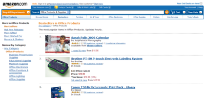 Amazon.com Bestsellers- The most popular items in Office Products. Updated hourly._1230390759203